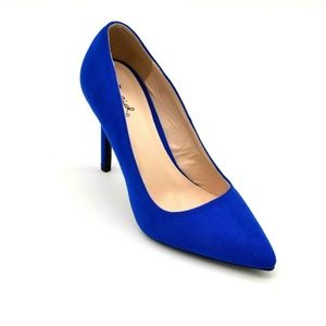 Qupid Womens Show-01 Pumps Size 8 Suede New